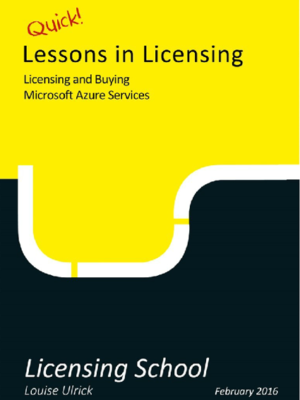 Licensing And Buying Microsoft Azure Services
