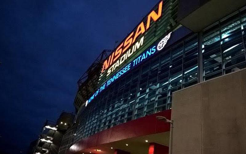 Nissan Sign Nashville