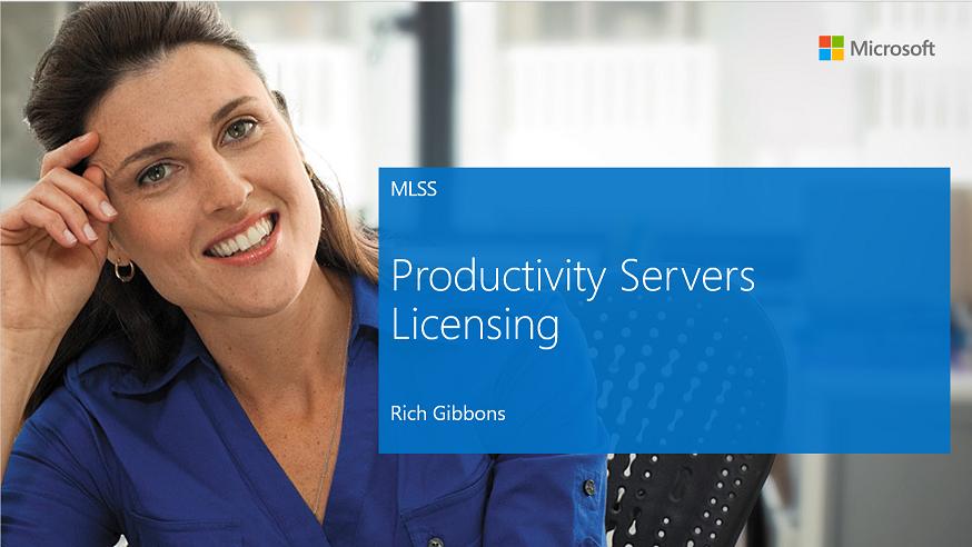 GLR Productivity Servers