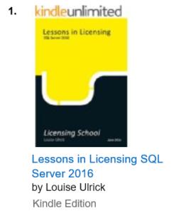 SQL Server 2016 Kindle Book