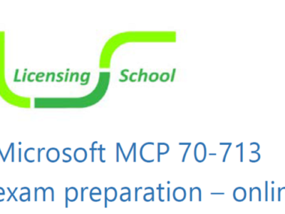 SAM MCP 70-713 Exam Preparation Course Dates