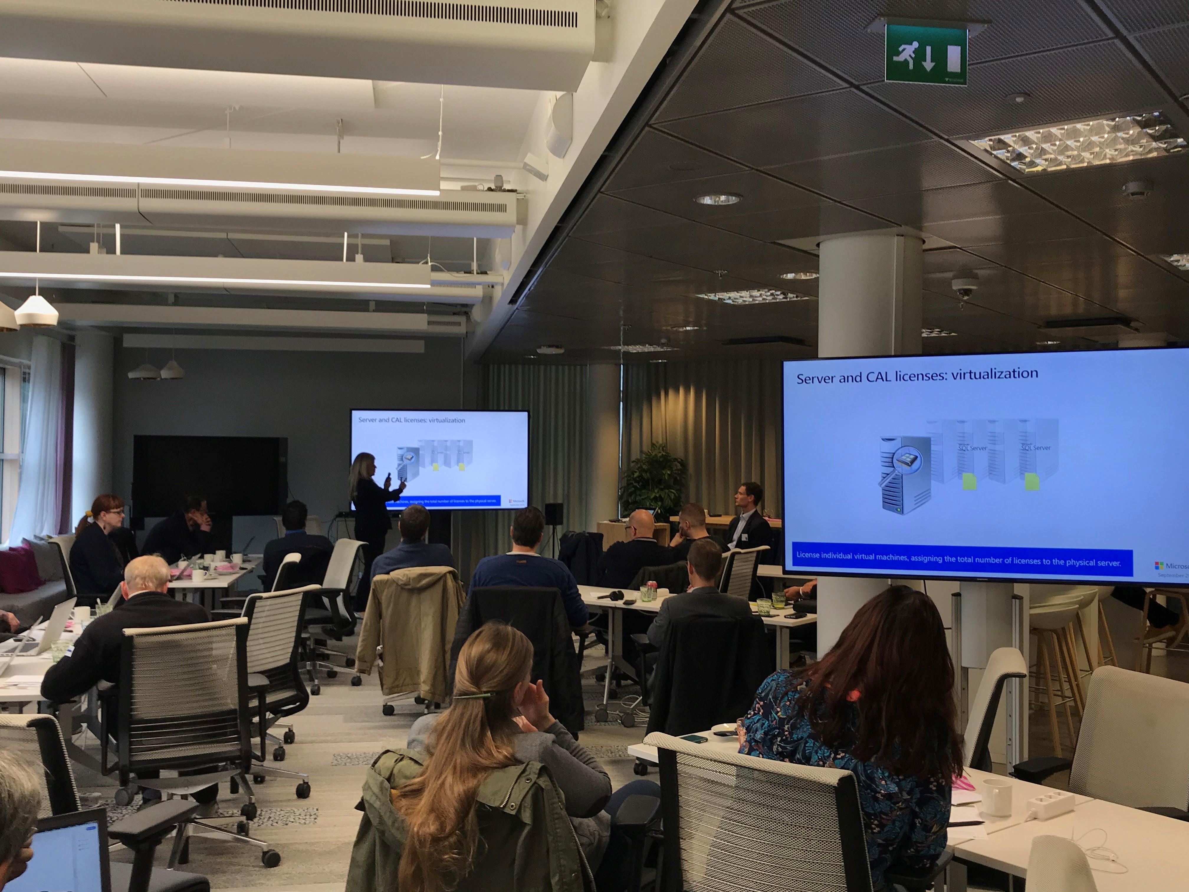 Microsoft Licensing Customer Boot Camp In Helsinki